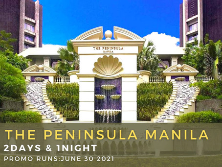2 Days and 1 Night Staycation Package.