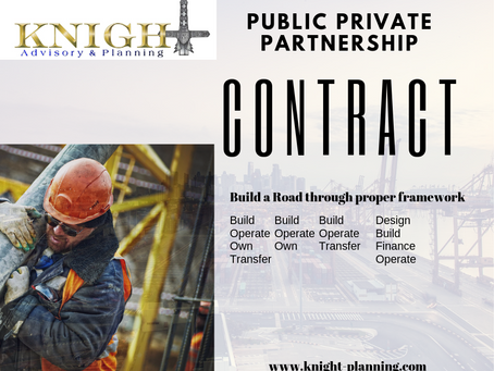 Frameworks of Public Private Partnership (P3) Contracts