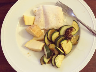 Stupid Easy Mediterranean Baked Fish