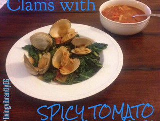 Clams with Spicy Tomato Miso Broth