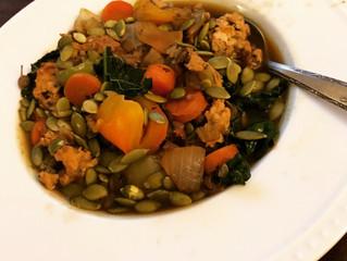 Satisfying Turkey Lentil Stew