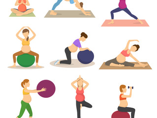 Safe Core Exercises for Pregnancy