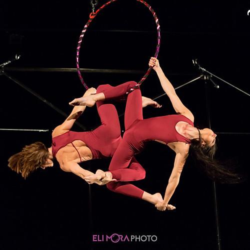 Aerial hoop doubles & singles