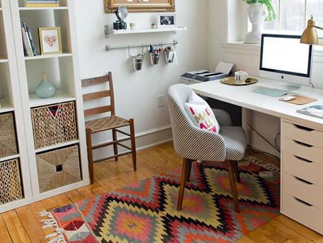 Como Criar um Home Office Prático e Aconchegante
