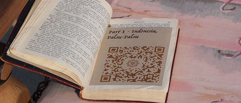 QR Codes connect to stories
