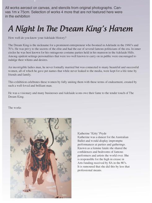The Dream King's Harem