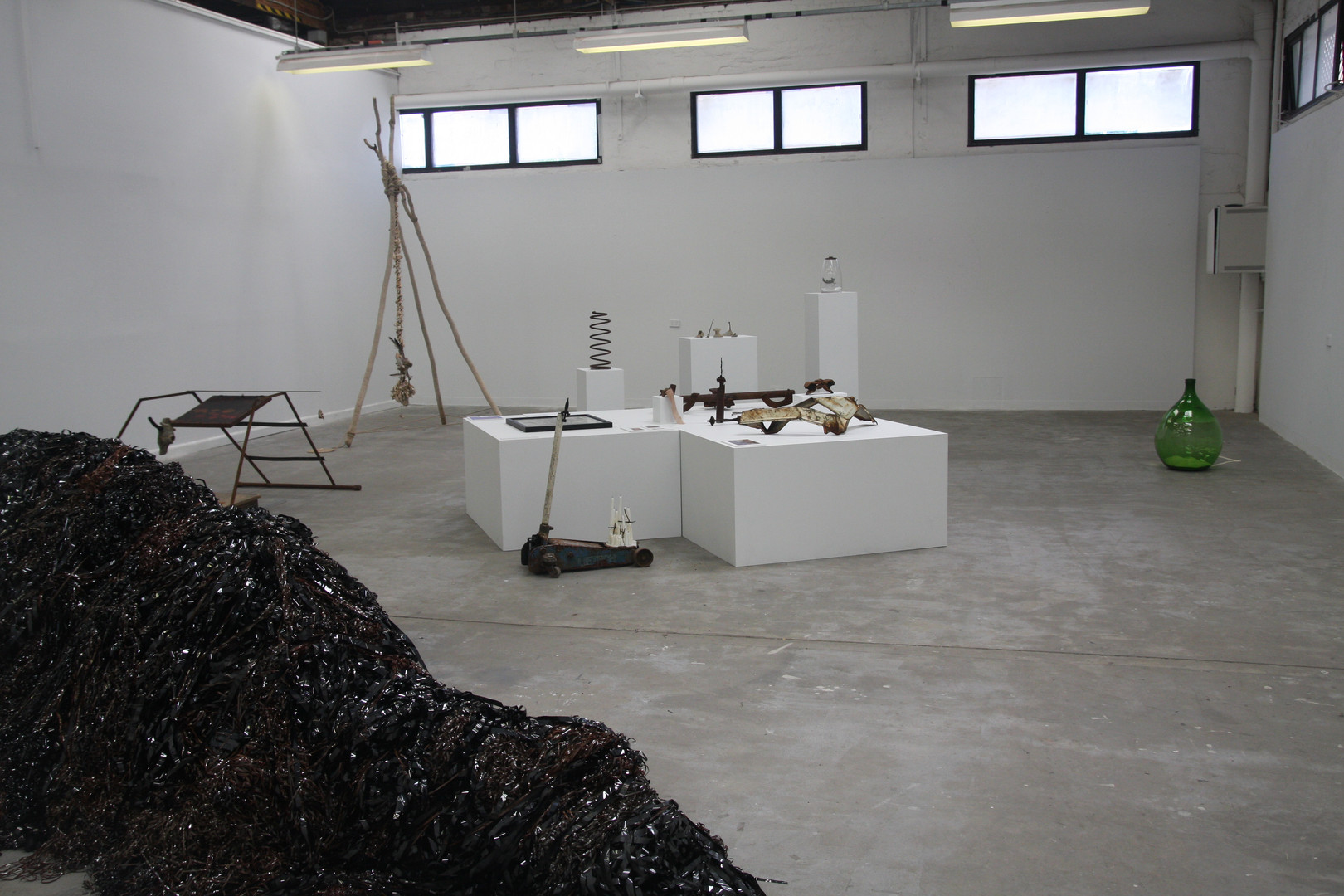 Final set up Liverpool St Gallery