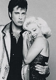 Diana as MM Johnny as Elvis.jpg