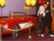 DD as MM Scot as Elvis Red Car_edited.jp