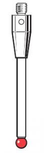 Tastereinsatz M4 mit Rubinkugel