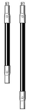 Tastereinsatz-Verlängerung M3 aus Kohlefaser