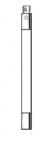 Tastereinsatz-Verlängerung M3 aus Keramik
