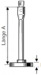 Scheibenförmiger Tastereinsatz M3