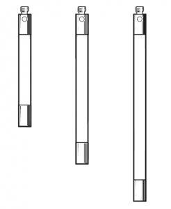 Tastereinsatz-Verlängerung M2 aus Keramik