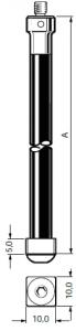 Tastereinsatz M4 für Werkzeugmessung