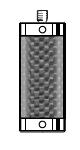 Tastereinsatz-Verlängerung M5 aus Kohlefaser