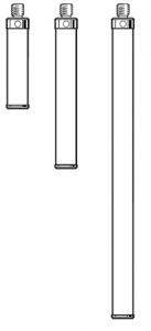Tastereinsatz-Verlängerung M4 aus Keramik