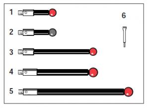 Tastereinsatz-Kit M3 für SP25M / SM25-2 / SH25-2