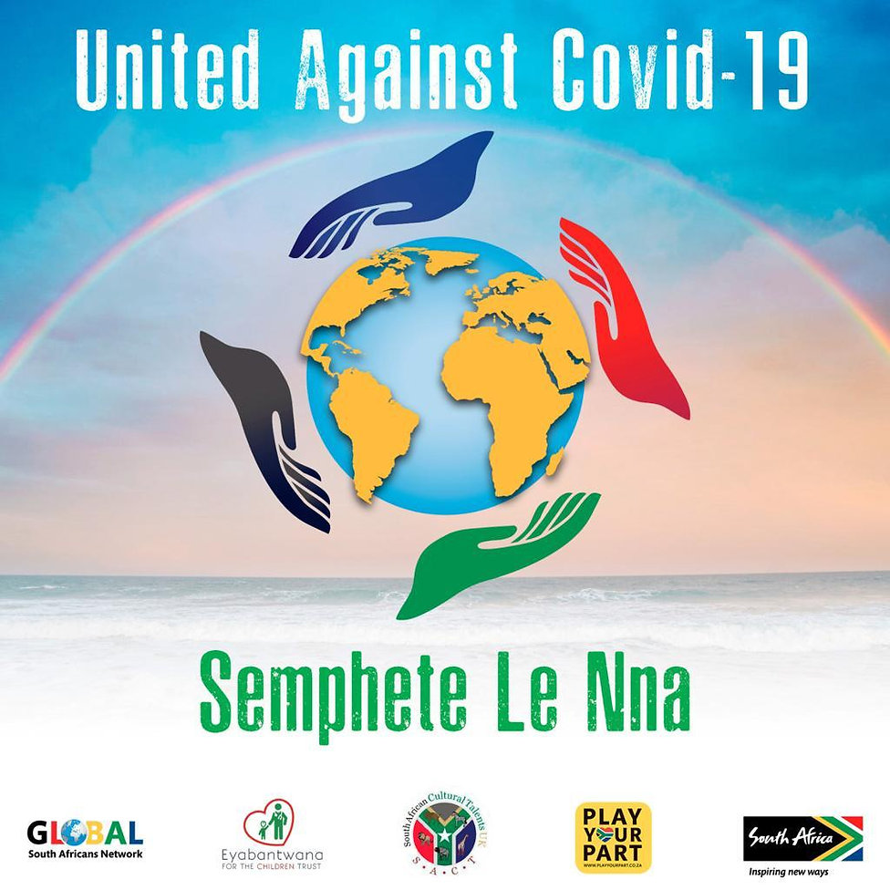 United Against Covid-19 Final Song Sleev