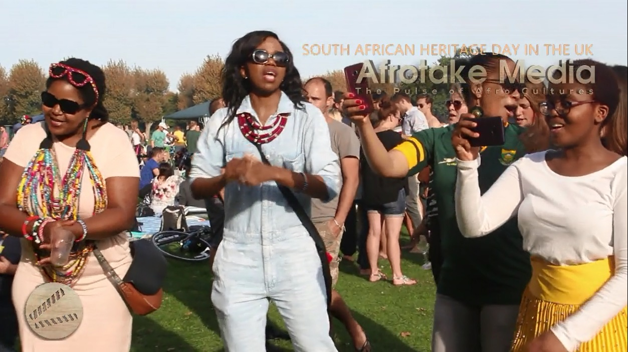 #afrotaking South African Heritage Day in the 4
