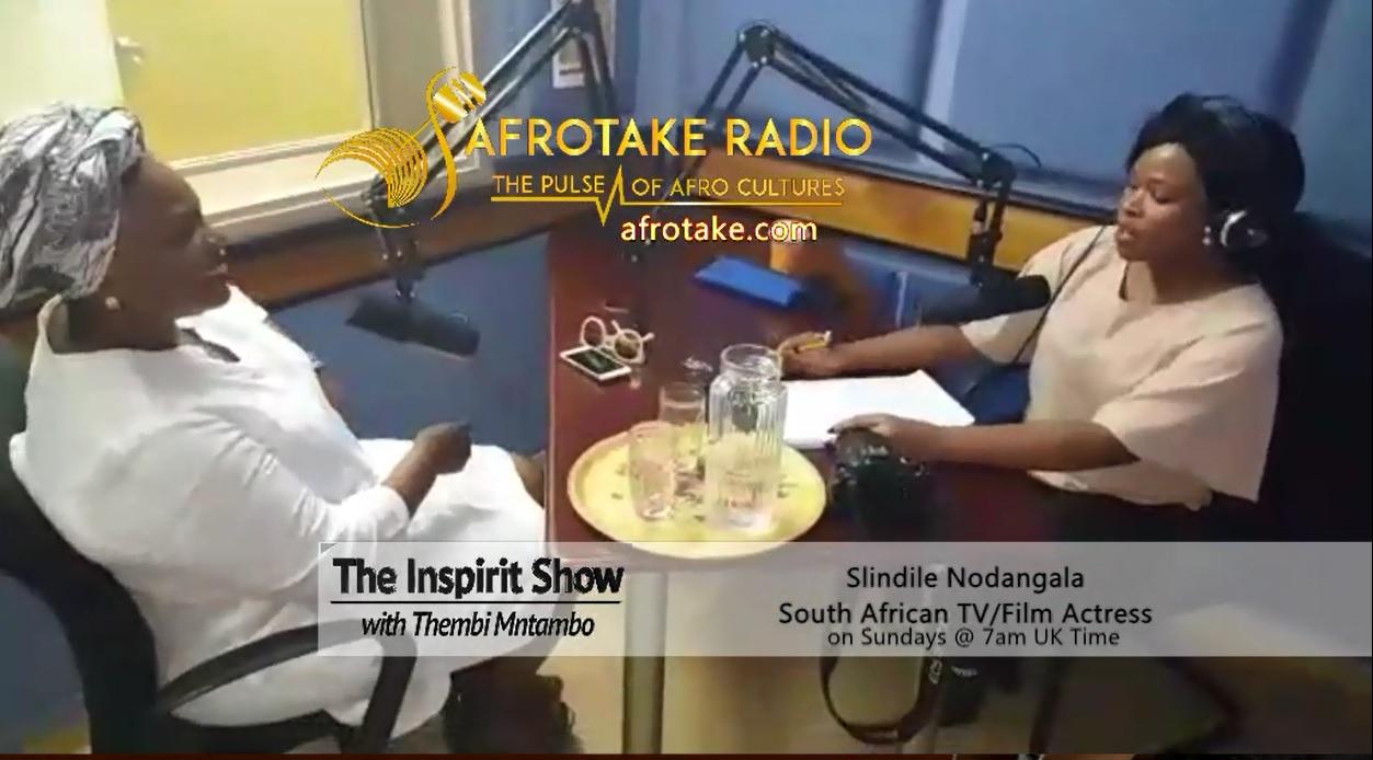 Slindile Inspirit with Thembi