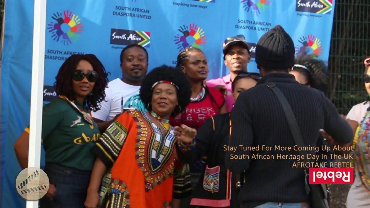 #afrotaking South African Heritage Day in the 10