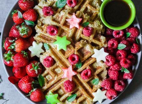 5 ingredient vegan & paleo waffles (AIP)
