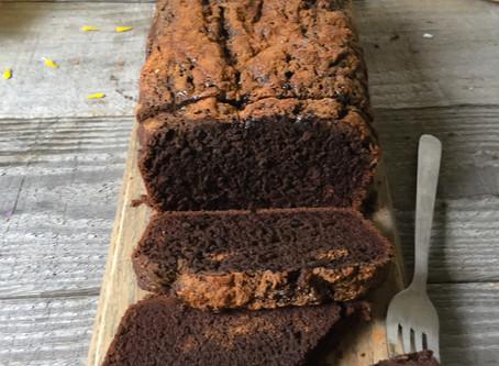 Carob Banana Bread