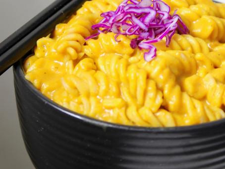 Mac n pumpkin pasta
