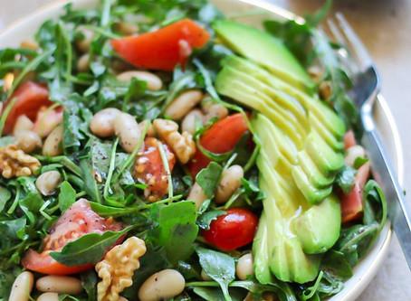 Mediterranean detox salad