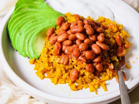 Anti-inflammatory beans & rice