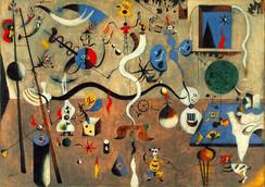Joan Miro Carnevale di Arlecchino