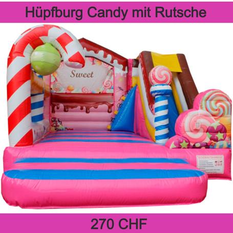 Hüpfburg Candy mit Rutsche