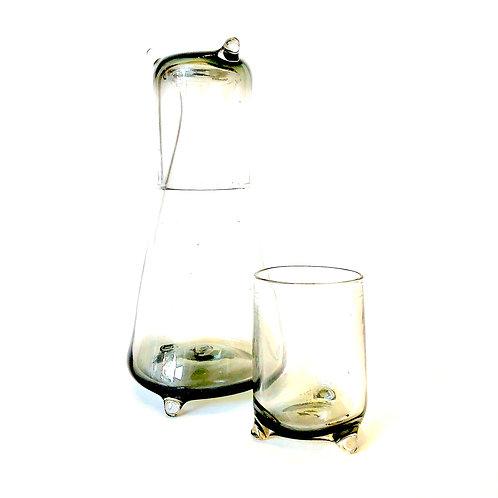 Bedside Water Carafe Glasses Set