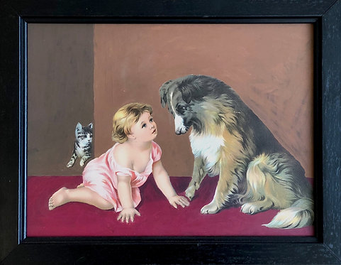 Child with Pets