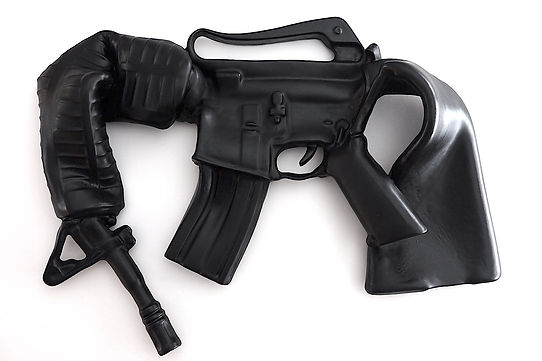 ar15 both ends bent art guns.JPG