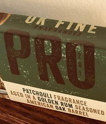 PRO Batch #201 PATCHOULI AGED IN A GOLDEN RUM SEASONED AMERICAN OAK BARREL
