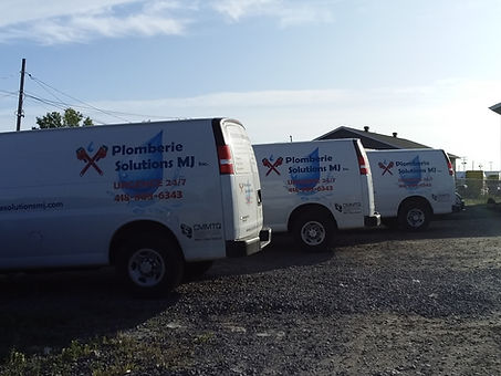 Camions urgence plombier