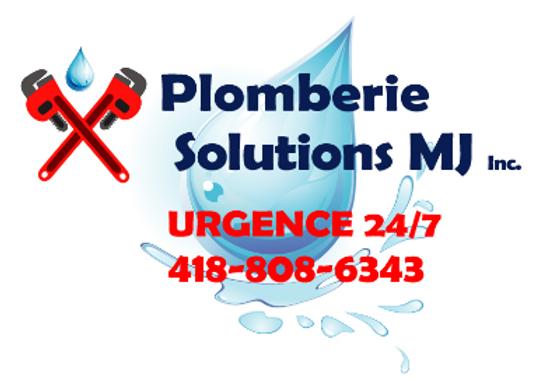 Plomberie Solutions MJ inc. spécialisé en service d'urgence 24/7 en plomberie dans la région de Québec. Plombiers certifiés, entreprise membre RBQ et CMMTQ. Débouchage, chauffe-eau, entrée d'eau, fuites et clapet anti-retour ne sont que quelques exemples.Lancez-nous un SOS en cas d'urgence !