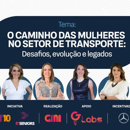 O caminho das mulheres do setor de transporte será discutido em evento