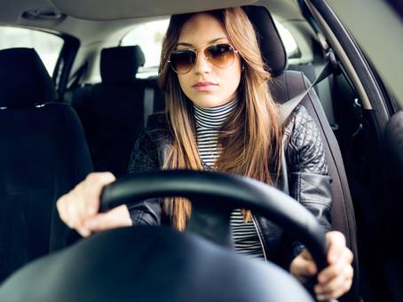 Mulheres causam menos acidentes no trânsito