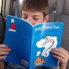One of my kiddo's reading Brinley!