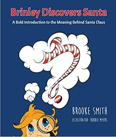 Brinley Discovers Santa