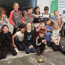 Brooke & Julieta Tortoise during a classroom visit!