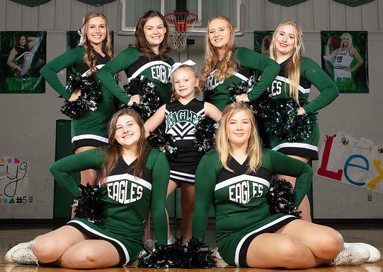 Varisty Cheerleaders
