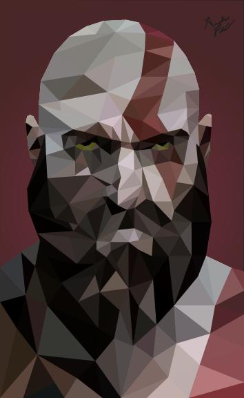 Low Poly Kratos
