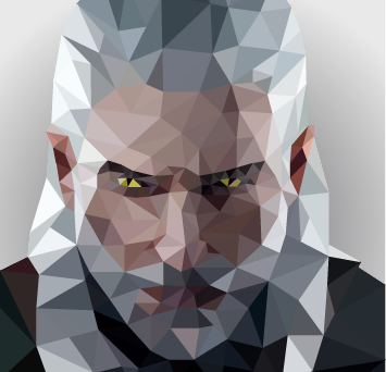 Low Poly Geralt