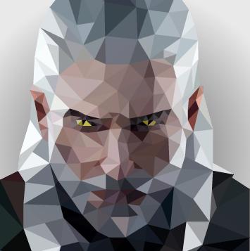 Low Poly Geralt