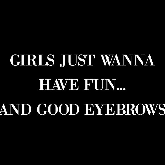 Yeah we do! Come visit us today for our amazing Hollywood Brow Shaping , let us create the perfect a