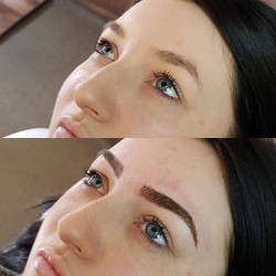 ❤️😱CANT.STOP.SWOONING😱❤️_Brows from today by our girl Alanna! ._._